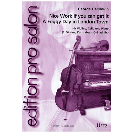 Gershwin, G.: Nice Work if you can get it / A foggy Day in London Town