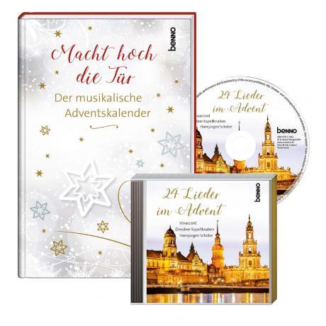 Adventskalender »Macht hoch die Tür« (+CD)