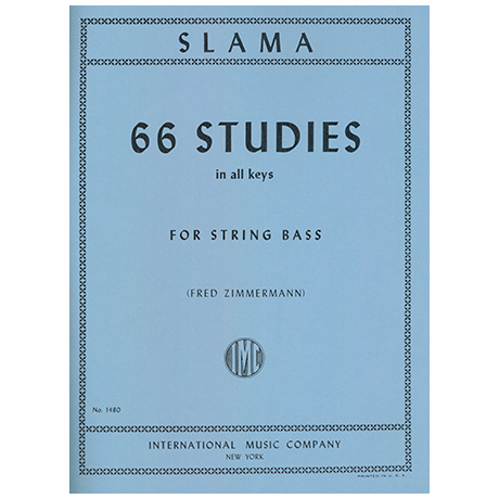 Slama, A.: 66 Studies in All Keys