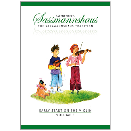 Sassmannshaus, E.: Early Start on the Violin Vol. 3