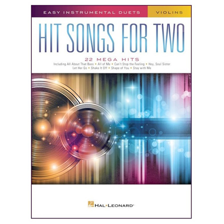 Hit Songs for Two Violins