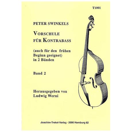 Swinkels, P.: Vorschule für Kontrabass Band 2