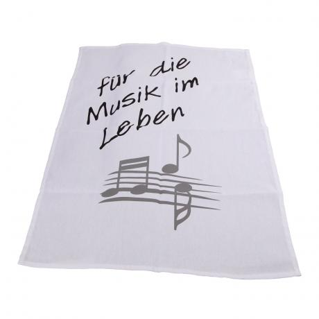 Kitchen towel MUSIC