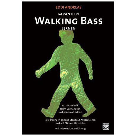 Andreas, E.: Garantiert Walking Bass lernen (+CD)