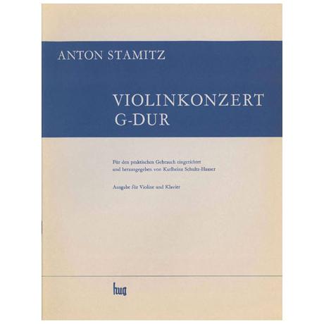 Stamitz, J. A.: Violinkonzert Nr. 8 G-Dur