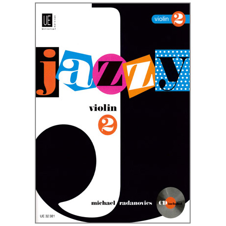 Radanovics, M.: Jazzy Violin Band 2 (+CD)