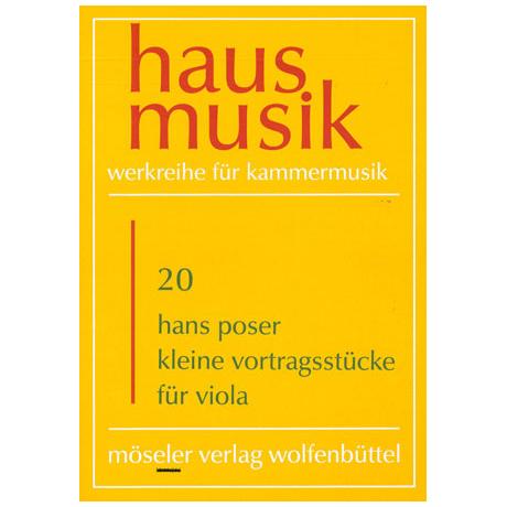 Poser, H.: Kleine Vortragsstücke