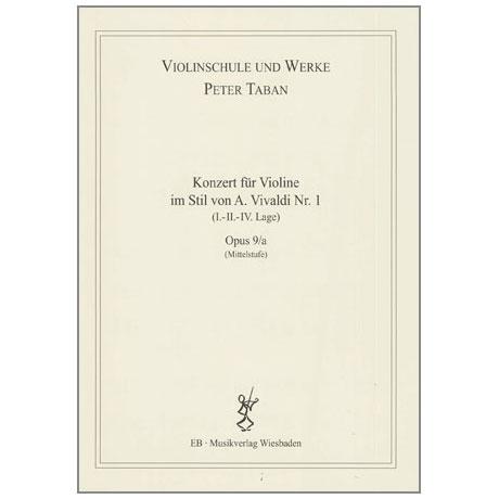 Taban, P.: Violinkonzert im Stil von A. Vivaldi Nr. 1 Op. 9/a