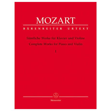 Mozart, W. A.: Sämtliche Werke - Band 1