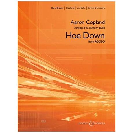 Copland, A.: Hoe Down – Set