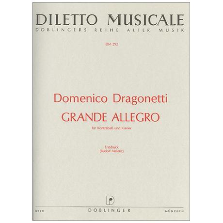 Dragonetti, D.: Grande Allegro E-Dur