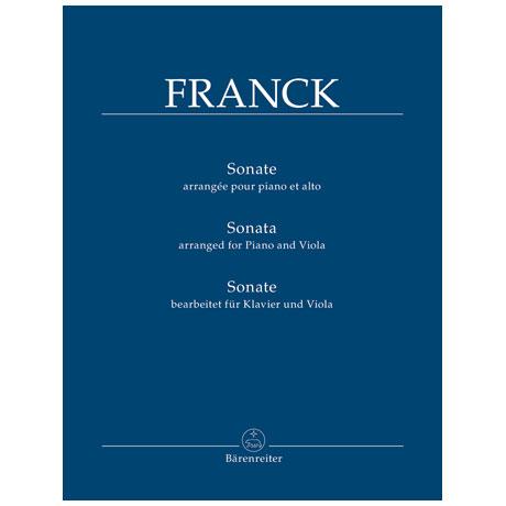Franck, C.: Violasonate