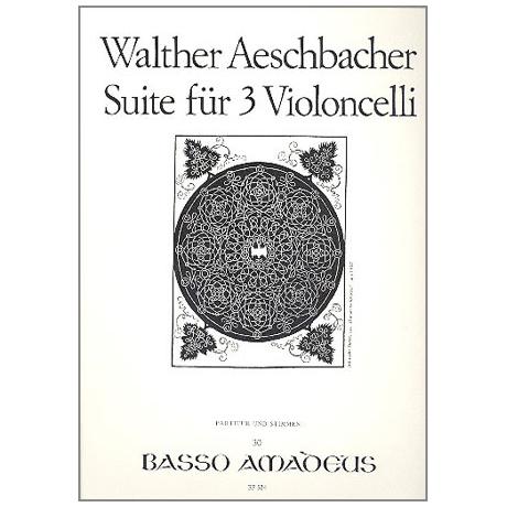 Äschbacher, W.: Cellosuite Op. 27