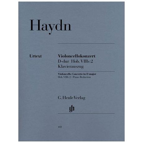 Haydn, J.: Violoncellokonzert Op. 101 Hob. VIIb: 2 D-Dur