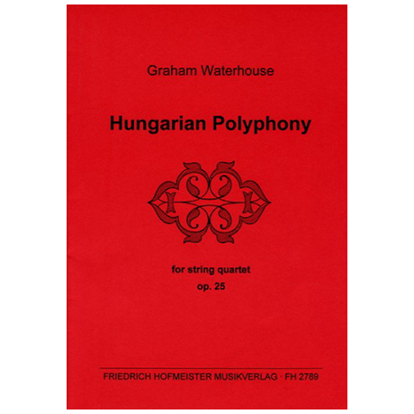 Waterhouse, G.: Hungarian Polyphony Op. 25