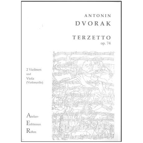 Dvořák, A.: Terzetto Op. 74 C-Dur