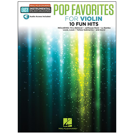 Pop Favorites for Violin (+Online Audio)