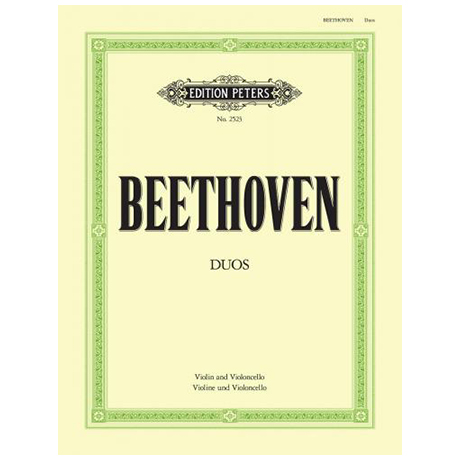 Beethoven, L. v.: 3 Duos