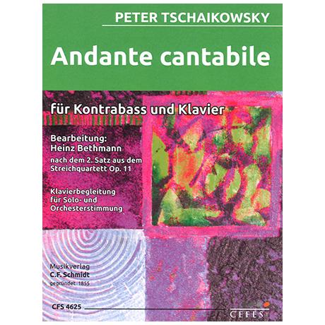 Tschaikowski, P. I.: Andante cantabile aus Op. 11