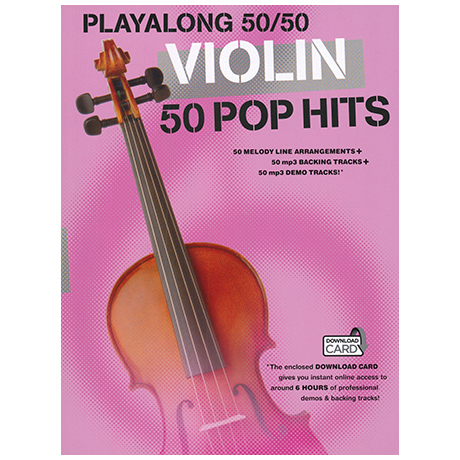 Playalong 50/50: Violin – 50 Pop Hits