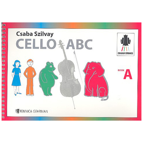 Colourstrings Cello ABC Book A