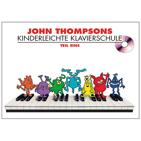 Thompson, J.: Kinderleichte Klavierschule Band 1 (+CD)