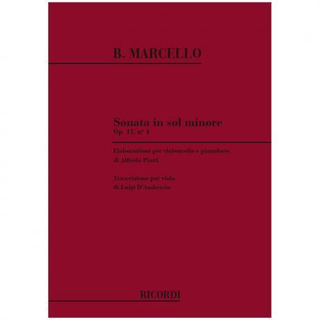 Marcello, B.: Violasonate g-Moll Op. 11/4