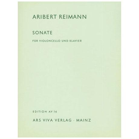 Reimann, A.: Sonate