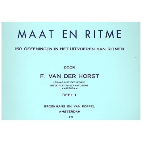 Horst, F. v. d.: Maat en ritme Band 1
