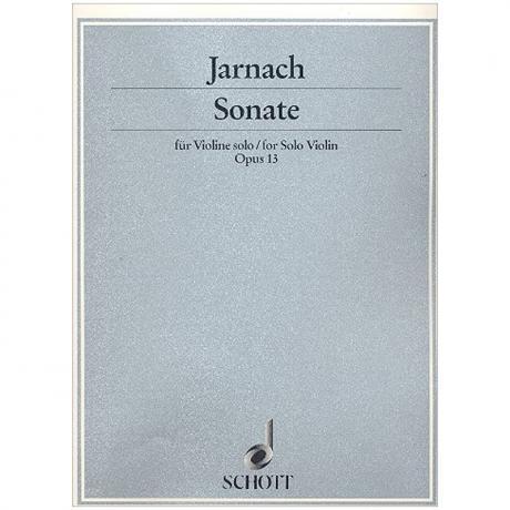 Jarnach, Ph.: Violinsonate Op. 13