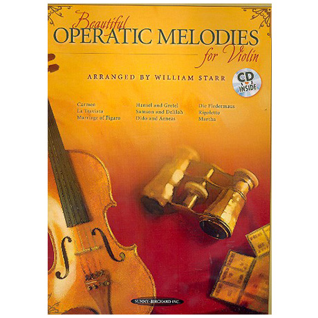 Beautiful Operatic Melodies for Violin (+CD)