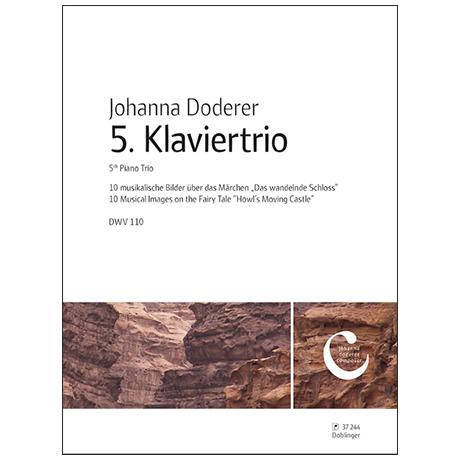 Doderer, J.: Klaviertrio Nr. 5 DWV 110