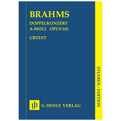 Brahms, J.: Doppelkonzert Op. 102 a-Moll