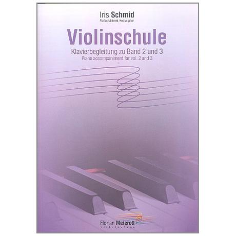 Meierott, F.: Violinschule – Klavierbegleitung zu Band 2 und 3
