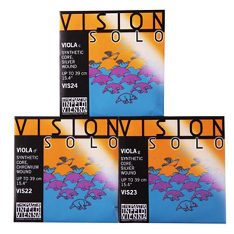 THOMASTIK Vision SOLO viola strings D-G-C