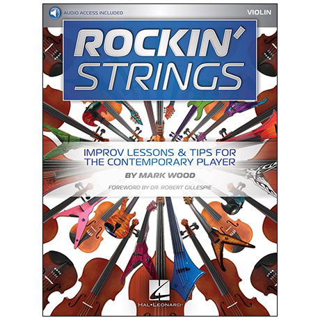 Wood, M.: Rockin' Strings: Violin (+Online Audio)