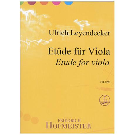 Leyendecker, U.: Etüde