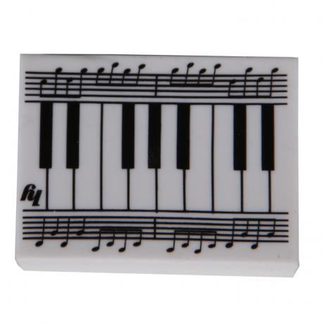 Eraser Piano & Notes