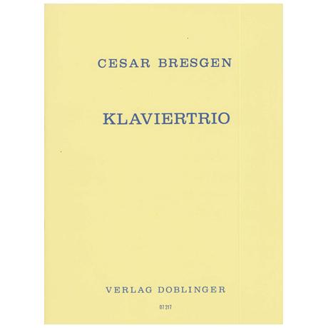 Bresgen, C.: Klaviertrio (1972)