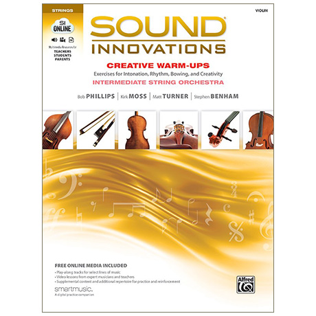 Sound Innovations for String Orchestra: Creative Warm-Ups - Violin (+Online Video und Audio)