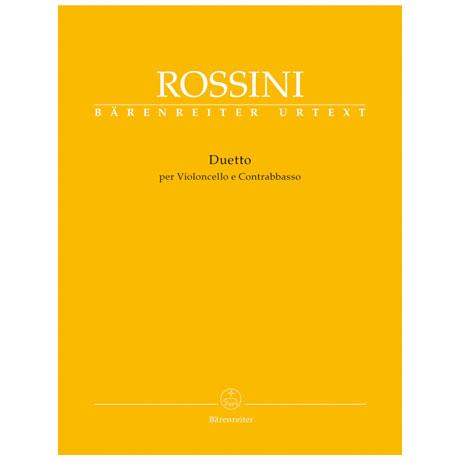 Rossini, G.: Duetto per Violoncello e Contrabbasso