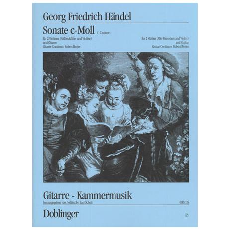 Händel, G. F.: Sonata c-moll Op. 2/1