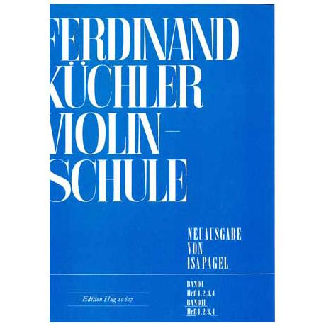 Küchler, F.: Violinschule Band 2 Teil 4