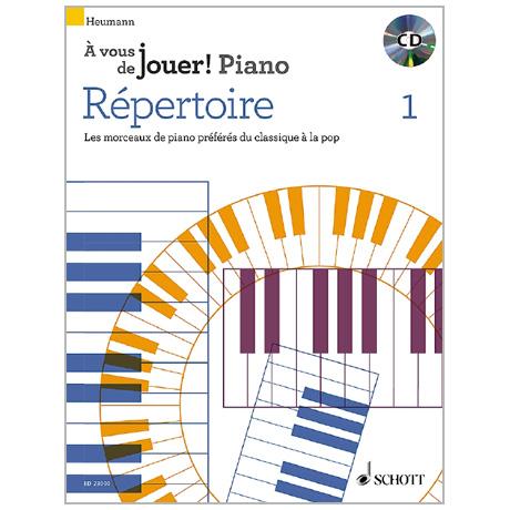 Heumann, H.-G.: Répertoire 1 (+CD)