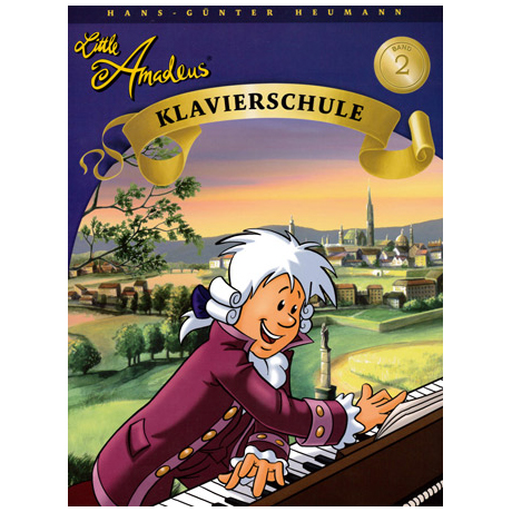 Little Amadeus - Klavierschule Band 2