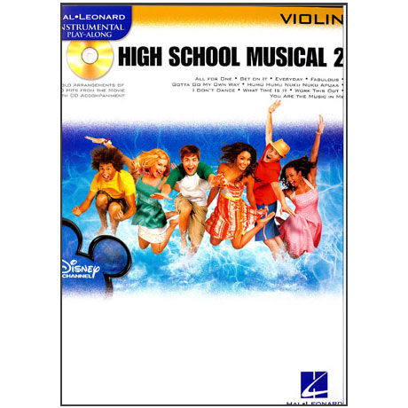 High School Musical Vol. 2: Violin (+CD)
