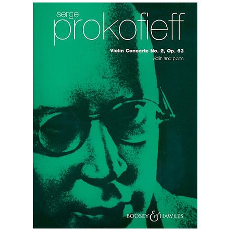 Prokofjew, S.: Violinkonzert Nr. 2 Op. 63 g-Moll