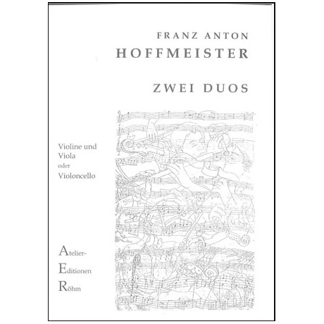 Hoffmeister, F. A.: 2 Duette