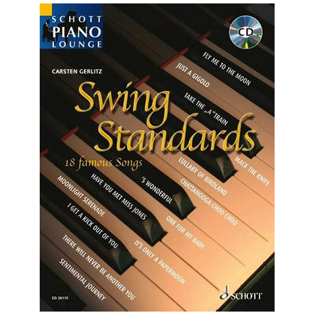 Schott Piano Lounge - Swing Standards (+CD)
