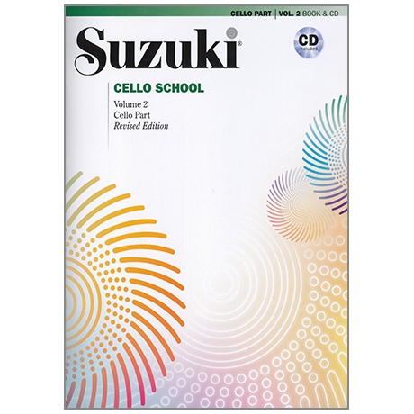 Suzuki Cello School Vol. 2 (+CD)